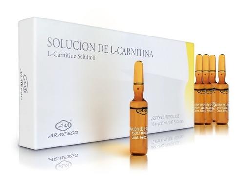 l-carnitina inyectable topico adelgazante quemador grasa