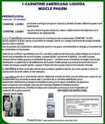 l-carnitina liquida quemador de grasa usa gratis estevia