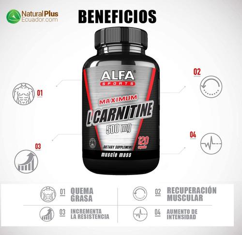 l carnitina quema grasa abdominal tonifica masa muscular x2