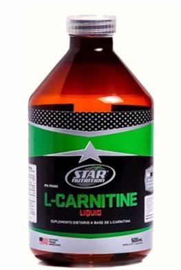 l- carnitina/carnitine liquida, star. quemador de grasa