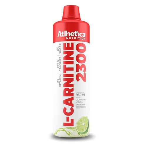 l-carnitine 2300 (960ml) atlhetica nutrition