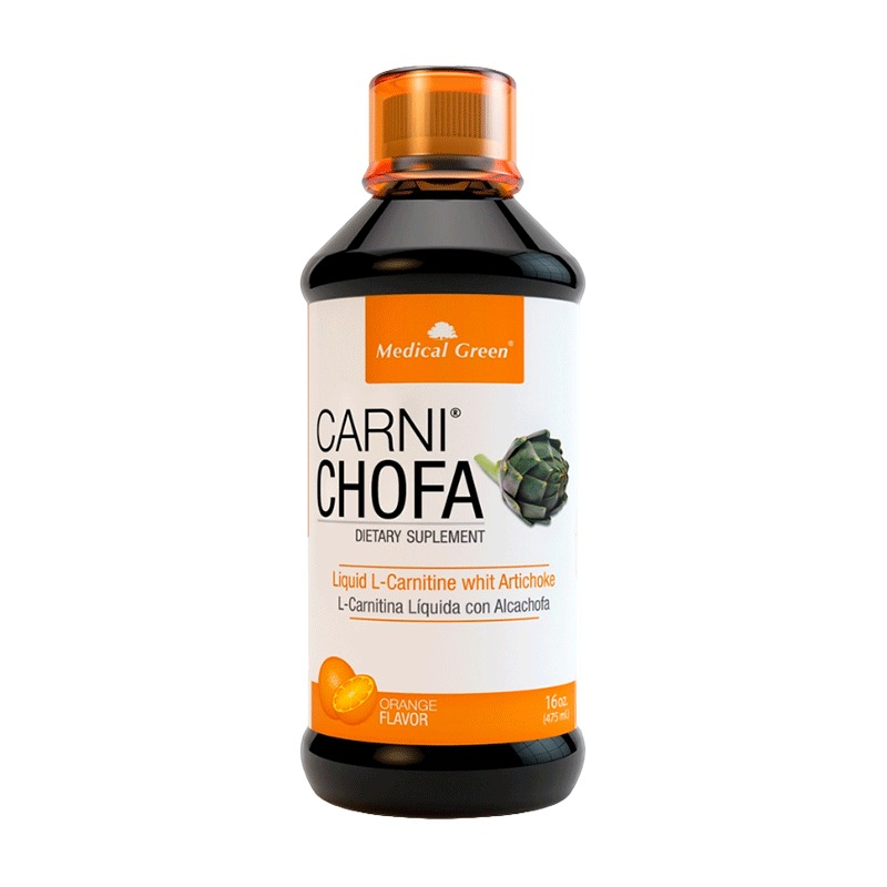 L-carnitine Con Alcachofa Carni Chofa Sabor A Naranja 475