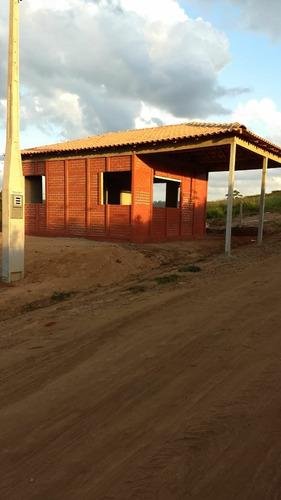l chácara de 1000 m² com portaria sem taxa de condomínio