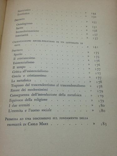 l' enigma modern - ciarletta - edizione di comunita - 1949