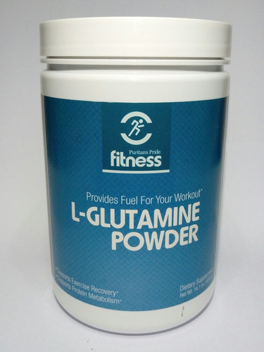 l-glutamine powder 400 gramos puritan's pride