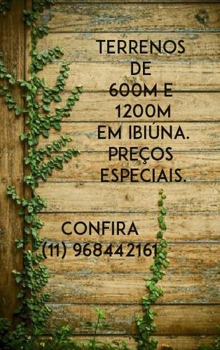 l. lotes em ibiúna, preços imperdíveis