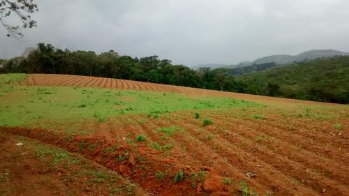 l. lugar sossegado, terrenos planos demarcados em ibiúna