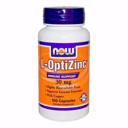 l-optizinc 30mg zinco 100cps now contra acne-espinha