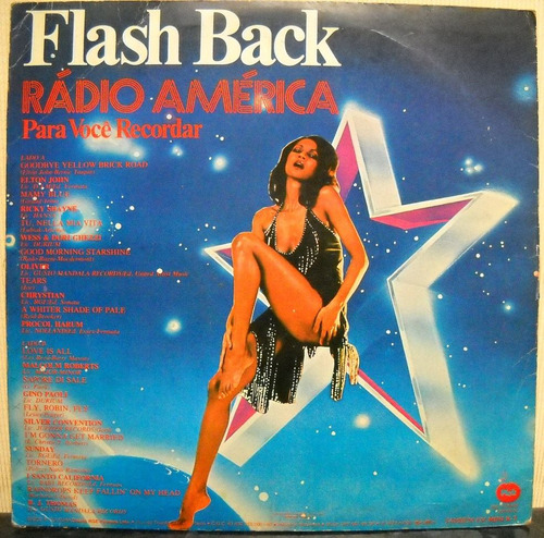 l p  coletânea    flash back radio américa   (1979)