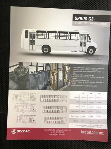 l pasajeros urbano y sub urbano autobus