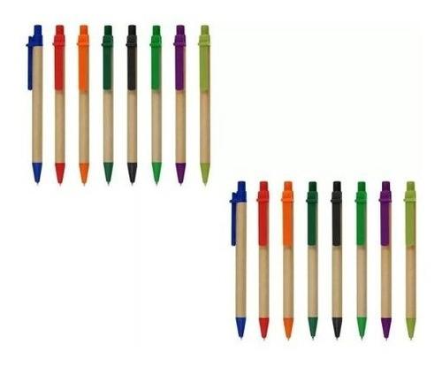 l2 bolígrafo ecológico ( desde 50 unid) gocy