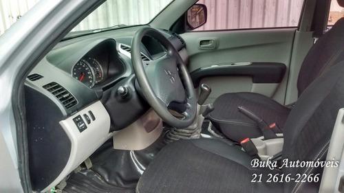 l200 3.2 triton gls cab. dupla 4x4 4p 2013 mec. completa