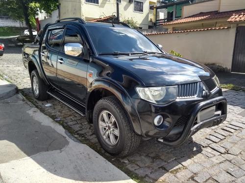 l200 3.5 triton  2008 hpe  cab. dupla 4x4 . gas/gnv - comp.