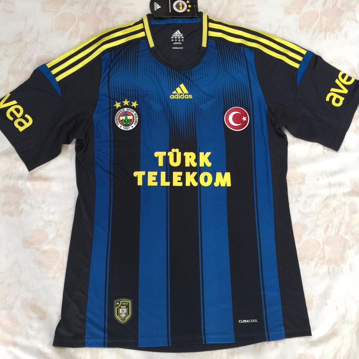 L20145 Camisa adidas Fenerbahce Third 12 13 G Fn1608 - R  1.499 c48bd46f6284c