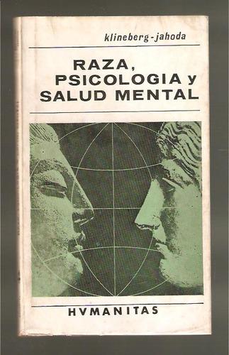 l2050. raza, psicología y salud mental, klineberg-jahoda