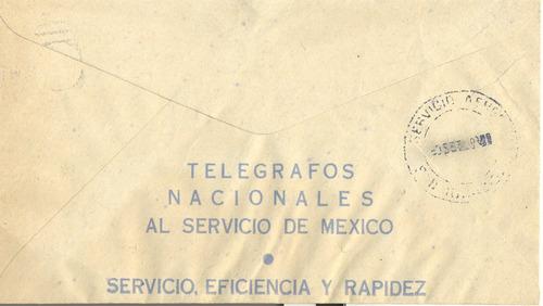l24-telegrama concelado con timbres correo año 1940 o 41-hm4