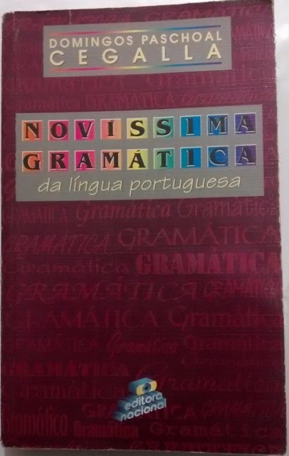 Novissima Gramatica Da Lingua Portuguesa Domingos Paschoal Cegalla Pdf