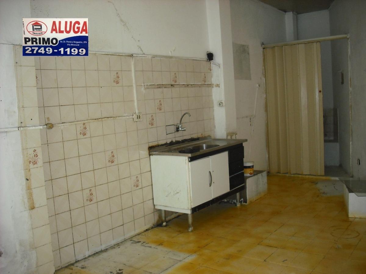l344 salão comercial - cidade patriarca - 20m2