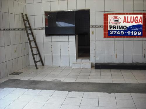 l382 - salão comercial 120m2 - 2 salões subdivididos *
