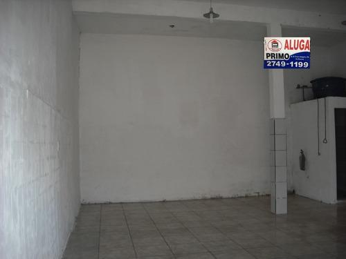 l391- salão com 50m2 ao lado do itau aceita caução *