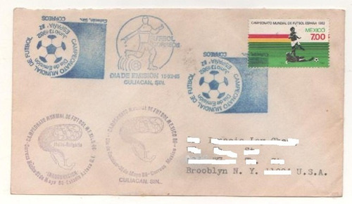l408-méxico carta circulada culiacán-new york serie mex. exp
