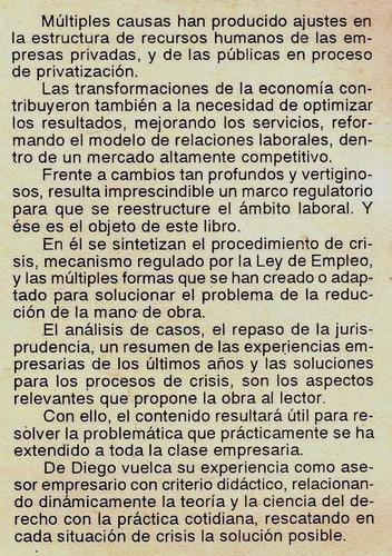 l4222. el procedimiento laboral de crisis de empresas