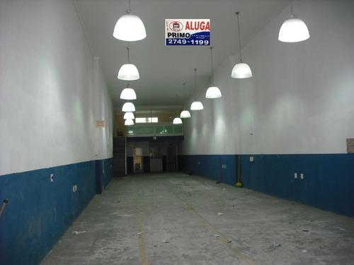 l482 - salão comercial na patriarca com 240m²!