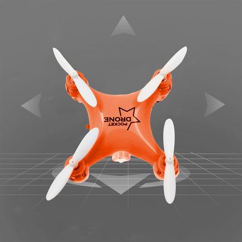 l6058 mini bolsillo rc quadcopter zángano uav con modo velo