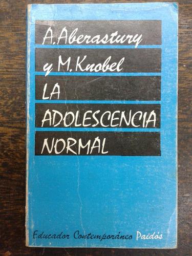 la adolescencia normal * a. aberastury y m. kuobel * paidos