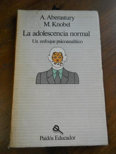 la adolescencia normal. aberastury, knobel.