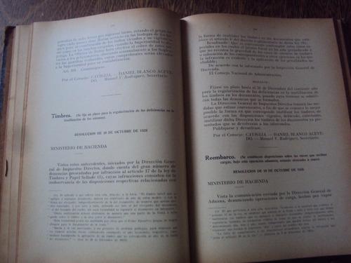 la aduana y sus leyes actuales decretos resoluciones t1 1928
