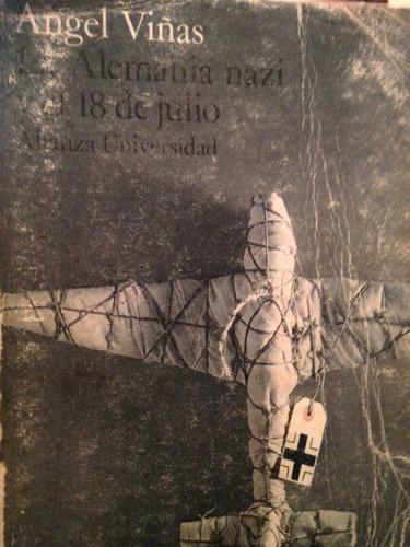 la alemania nazi y el 18 de julio -angel viñas