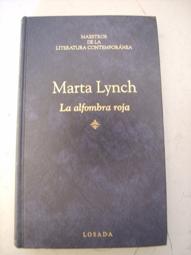 la alfombra roja de marta lynch