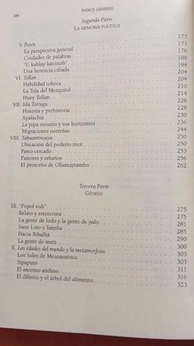 la américa indígena en su literatura: los libros del 4 mundo