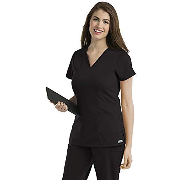 La Anatomía De Grey 41452 Mujeres V-cuello El Matorral Sóli ...