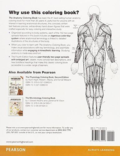 La Anatomía De Un Libro Para Colorear - $ 148.550 en Mercado Libre