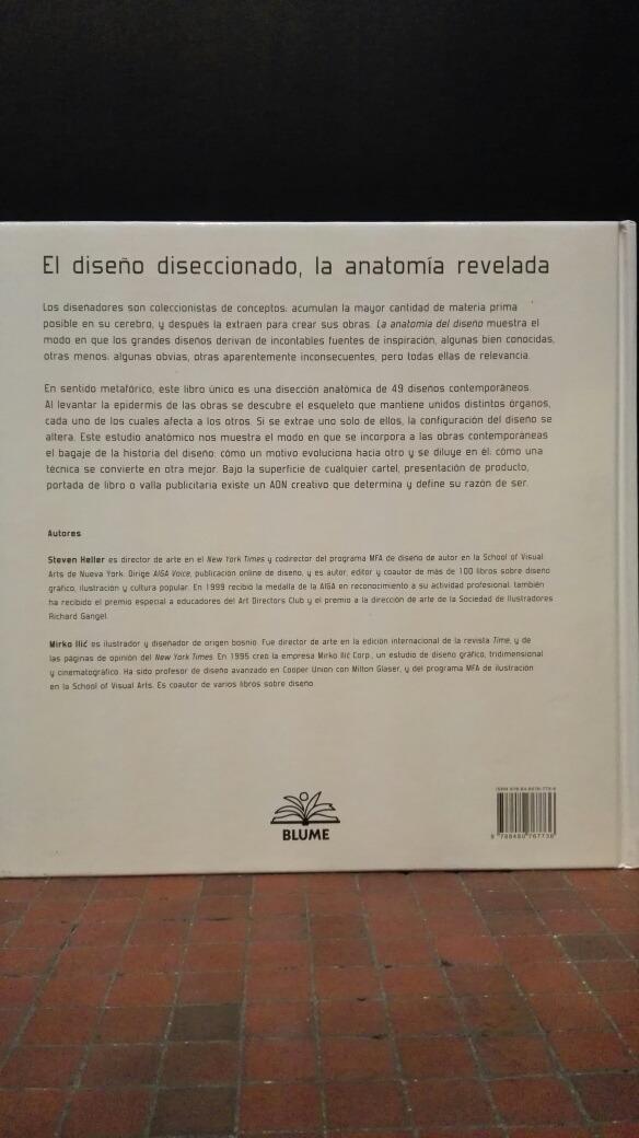 La Anatomía Del Diseño - Bs. 3.229,20 en Mercado Libre