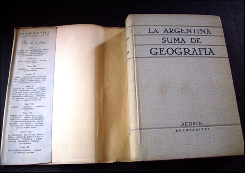 la argentina, suma de geografia, tomo 5 _ aparicio, difrieri