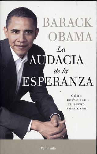 la audacia de la esperanza barack obama