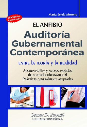 la auditoria gubernamental contemporanea moreno