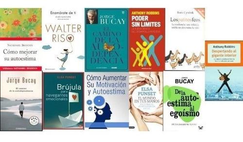 la autoestima. colección 23 libros @@@
