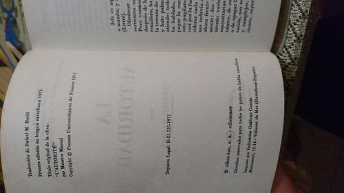 la autoridad- maurice marsal