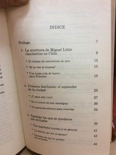 la aventura de miguel littin clandestino en chile. g. garcia