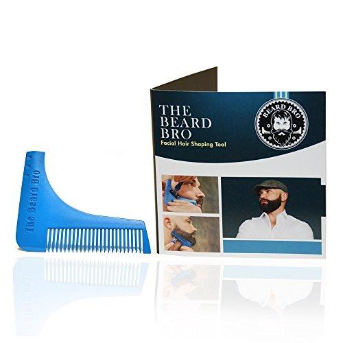 la barba bro-beard que forma la herramienta para las líneas