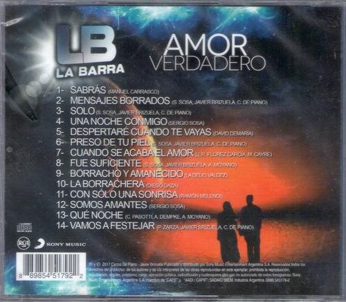 la barra - amor verdadero cd 2017 - los chiquibum