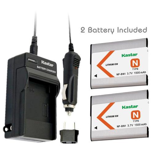 la batería kastar (paquete de 2) y el kit de cargador para n