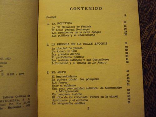 la belle epoque nestor lujan 1977 francia paris arte cultura