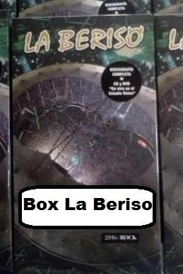 la beriso - discografia completa 6 cds + dvd vivo la plata