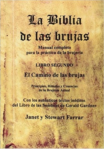 la biblia de las brujas t.2, janet farrar, edl