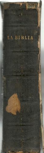 la biblia. de vulgata latina  por phelipe scio de s. miguel